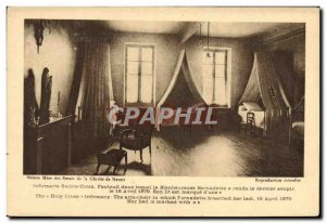 Postcard Old House Mere The Sisters of Charity of Nevers Infirmary Holy Cross