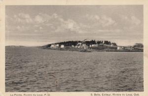 RIVIERE du LOUP , Quebec , Canada , 1930s ; La Point
