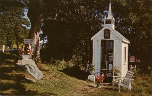 ME - Wiscasset. Smallest Church in the World