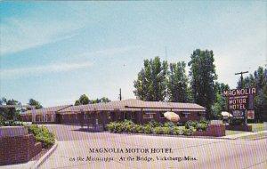 Magnolia Motor Hotel Vicksburg Mississippi