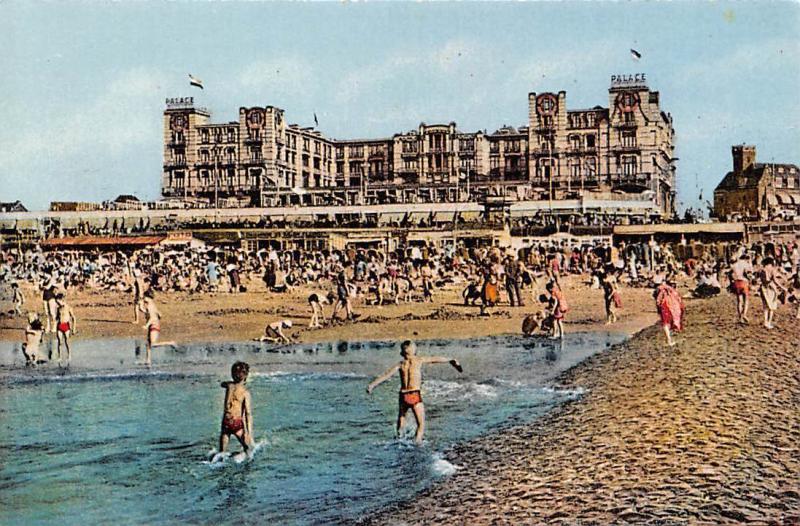 Netherlands Scheveningen, Palace Hotel, animated, beach, children, Photo Chrome