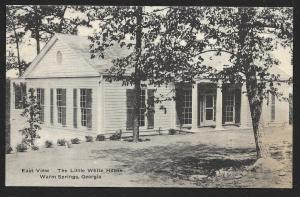 Roosevelt's Little White House East View Warm Springs Georgia Unused c1940s