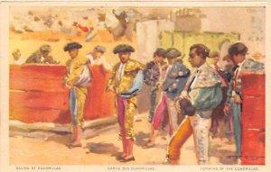 Forming of the Cuadrillas Bull Fighing, Bullfighting Unused