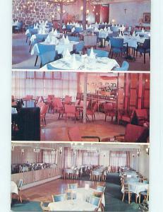 Unused Pre-1980 LA BARRE 500 RESTAURANT Montreal Quebec QC p9154