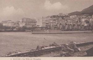Escadre Ship Liner Boat Bougie Algeria Antique Algerian Mediterranean Postcard