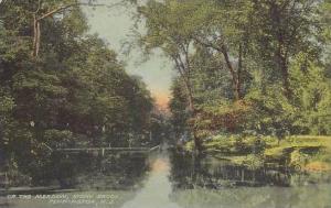 Up the Meadow, Stony Brook, Pennington, New Jersey, 00-10s