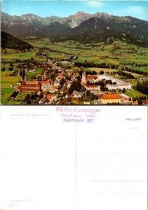 Admont mit den Hallermauern Mountain chain in Austria (12974)