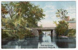 Stroudwater Village, Me, Falls and Bridge