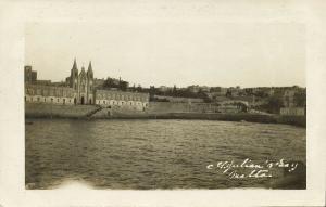 malta, SAINT JULIAN'S, Bay Scene (1925) RPPC