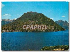 Postcard Modern Monte Bre Lugano