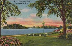Lake Of The Isles Minneapolis Minnesota