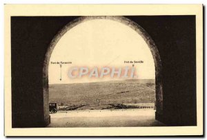 Old Postcard Ossuary Lighthouse Douamont Army View taken on Tavannes and Souv...