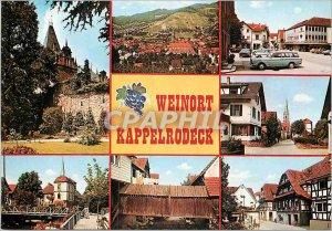 Postcard Modern und Wein Ferienort Kappelrodeck