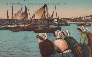 Concarneau , France , 00-10s ; Le Port vu de la Digue Sardiniere