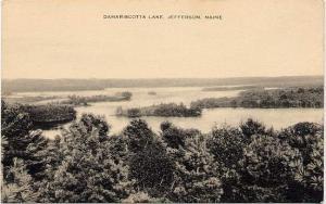 Damariscotta Lake at Jefferson, Lincoln County, Maine