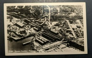 Mint Vintage Tacoma Smelter Producer of Gold Washington Real Photo Postcard RPPC