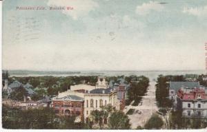 Panoramic View, Madison Wisconsin  1908