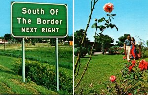 South Carolina South Of The Border Interstate 95 Sign