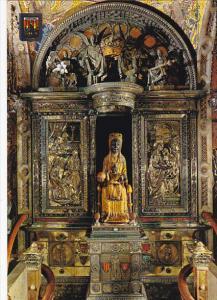 Spain Montserrat El Trono de la Virgen