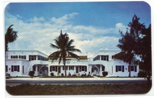 Edgewater Apartments Hollywood Florida postcard