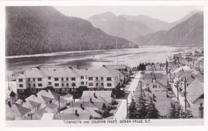 RP, Townsite & Cousins Inlet, Ocean Falls, British Columbia, Canada, 1920-1940s