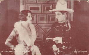 Cowboy Actor TOM MIX, 30s-40s; # 1 In the Great Train Robbery