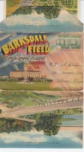 SHREVEPORT , Loiusiana , PU-1942 ; Barksdale Field Folder Postcard