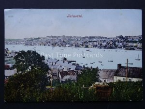 Cornwall FALMOUTH Panoramic View c1904  Old Postcard