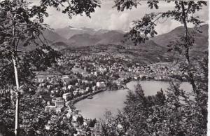 Switzerland Lugano vista dal Monte San Salvatore 1959 Photo