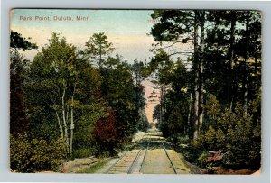 Duluth MN-Minnesota, Park Point, Vintage c1909 Postcard