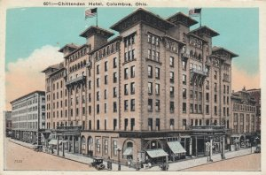 COLUMBUS, Ohio, 1900-10s; Chittenden Hotel