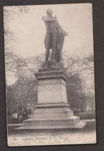 Lafayette Monument, New York City, NY- Used c1907 In Newfoundland - Some Wear