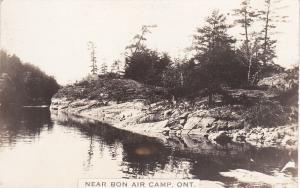 RP: Near BON AIR CAMP , Ontario, Canada, 1910-20s