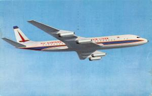 Eastern Air lines, Giant Long Range DC-8 Jets, Early Postcard, Used in 1963