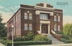 EDWARDSVILLE , Illinois , 1947 ; Masonic temple