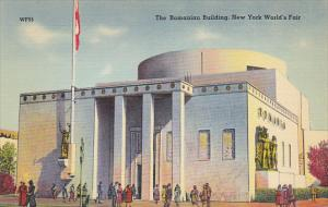 New York World's Fair 1939 The Romanian Building