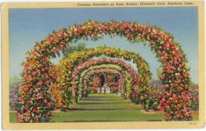 Linen of Rose Arches Elizabeth Park Hartford Connecticut CT