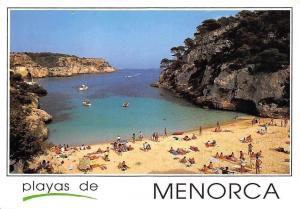 Portugal Playas de Menorca Cala Macarelleta Beach Boats Bateaux Plage