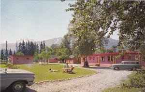 Lamplighter Motel, REVELSTOKE, British Columbia, Canada, 1940-60s