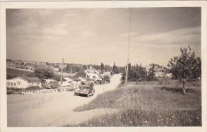 Canada Nova Scotia Margaretsville Street Scene 1945 Real Photo