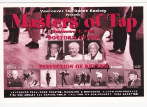 Masters of Tap , Playhouse Theatre , VANCOUVER , B.C. , Canada , 2002
