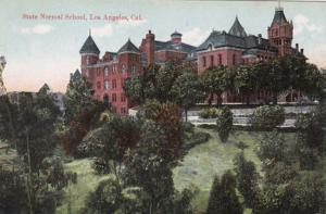 California Los Angeles State Normal School