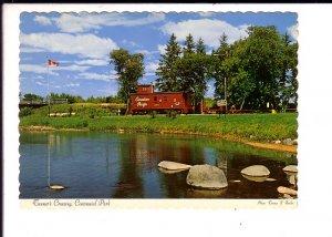 Railway Train, Turner's Crossing, Centennial Park, Minnedosa,  Manitoba
