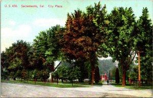 City Plaza Sacramento CA Postcard Unused (35472)