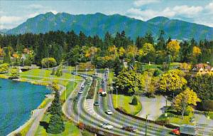 Canada Entrance To Stanley Park Vancouver British Columbia