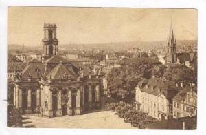Saarbruken mit Ludwaigs und St Jatobskirche, Saarland, Germany, 1910-20s