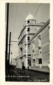 venezuela, MARACAIBO, Hotel Hispania (1930s) Delgado RPPC