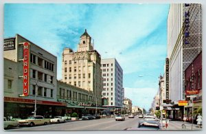 St Petersburg FL~Nunn-Bush Shoes~McCrorys~First National Bank~Hotel Alden~1950s