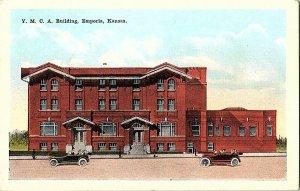 Y. M. C. A. Building Emporia Kansas Vintage Postcard Standard View Card