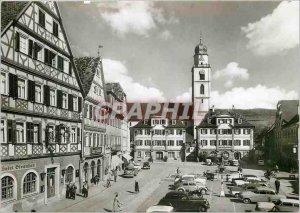 Modern Postcard Bad Mergentheim Marktplatz